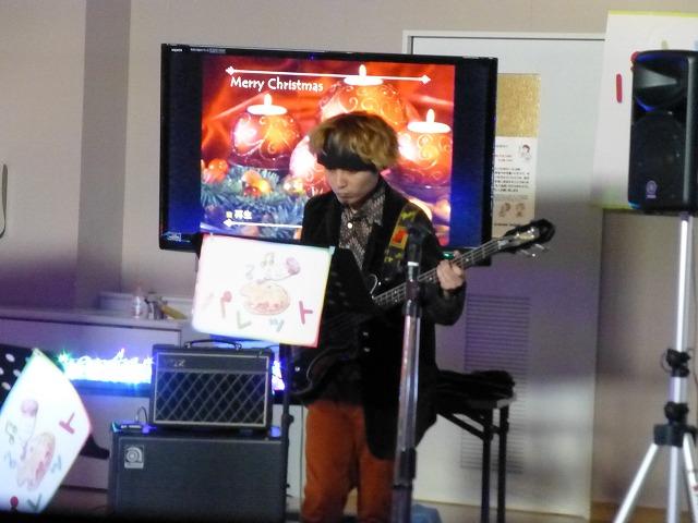 12月18日、久山療育園、東医療センターで、クリスマスライブでした♪_e0188087_21545523.jpg