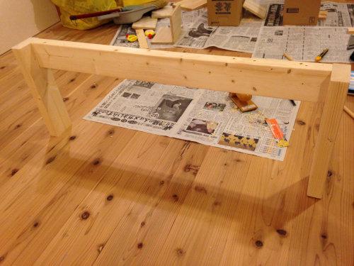木製ベットを手軽にDIY_b0349892_20014040.jpg