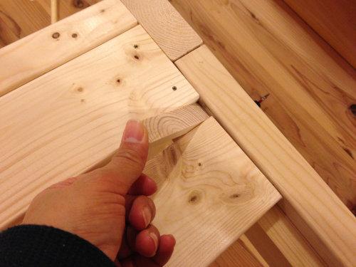 木製ベットを手軽にDIY_b0349892_20014660.jpg