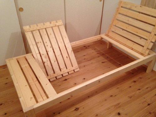 木製ベットを手軽にDIY_b0349892_20015171.jpg