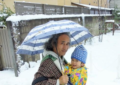 初雪の雪景色_f0006713_23110257.jpg