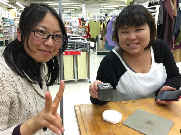 アートクレイシルバー体験作品〜東急ハンズアネックス〜_e0095418_14195799.jpg