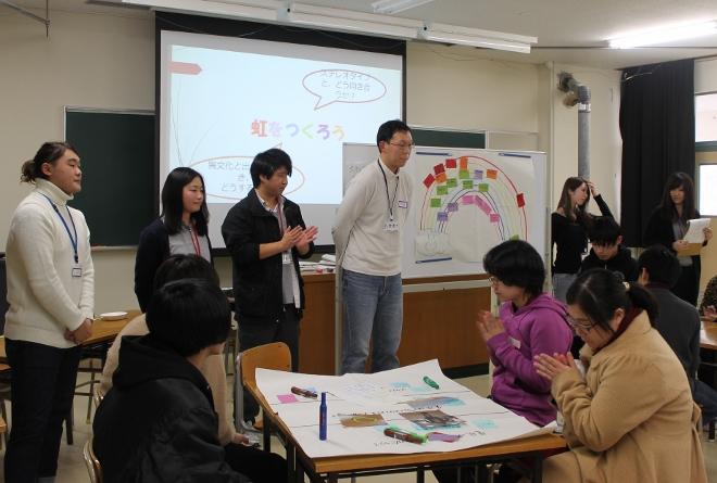 新潟県立新潟翠江高校において『虹色文化』のワークショップを行ないました_c0167632_13483010.jpg