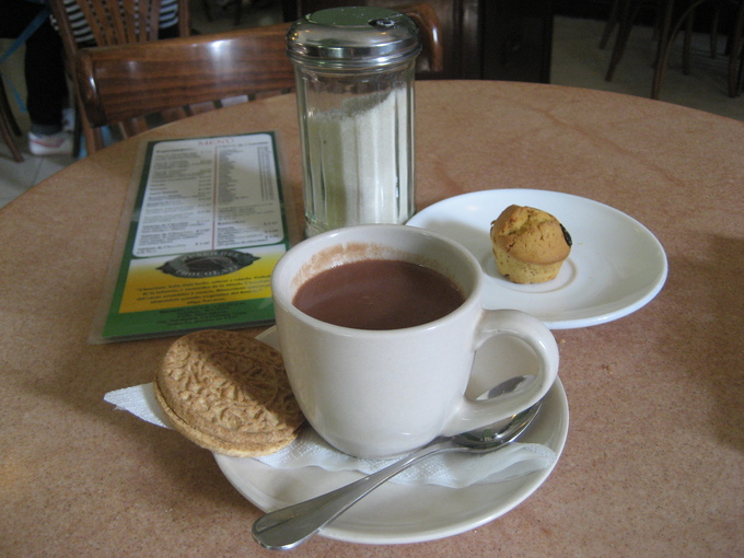 常夏キューバのホットチョコレート_a0103940_23284538.jpg