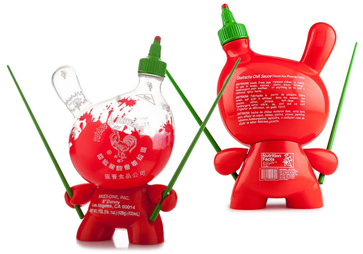 Sketracha Solid & Clear 8 inch Dunny by Sket-One_e0118156_1717577.jpg