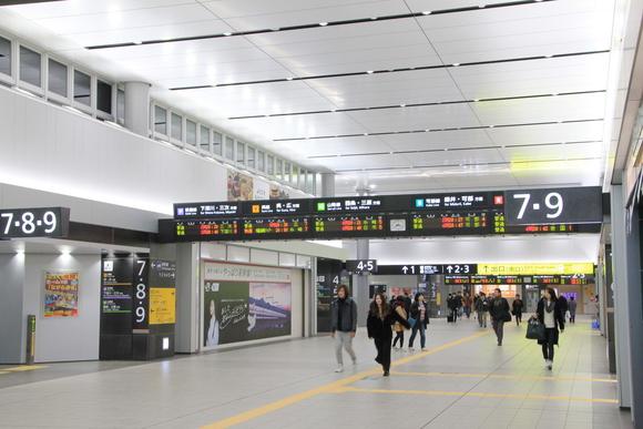 元旦 JR広島駅・・_d0202264_7294660.jpg