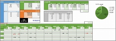 「 とことんシンプルなエクセル家計簿 」発売中_c0199166_10535794.jpg