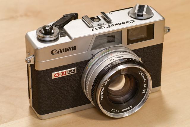 Canon キヤノネット G-III 17を...