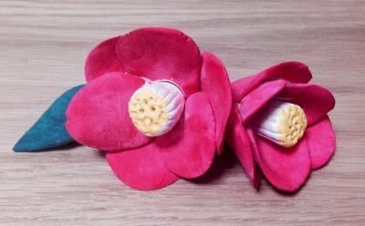 Let\'s make  Japanese Camellia 椿 _f0072976_19304184.jpg