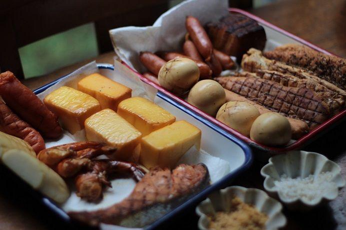 スモークチーズや卵など簡単トライ!