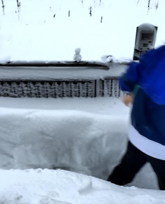 あんかけ焼きそばと、除雪を終えて。_e0347725_17210689.jpg