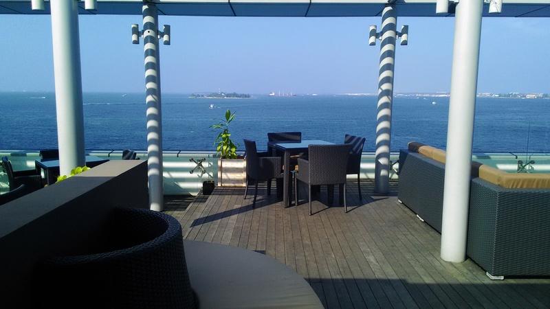 マレ 海が見えるお手頃カフェでまったり Salt Cafe&Restaurant_a0349326_1325163.jpg