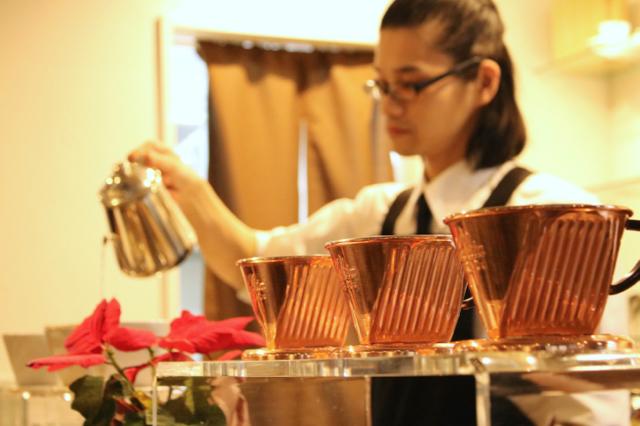 *神田*「Dining Cafe 欅」モーニングセット_f0348831_08364958.jpg