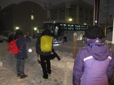 """吹雪の中""""台湾""""の御客様(23名)_f0289632_21423043.jpg"""