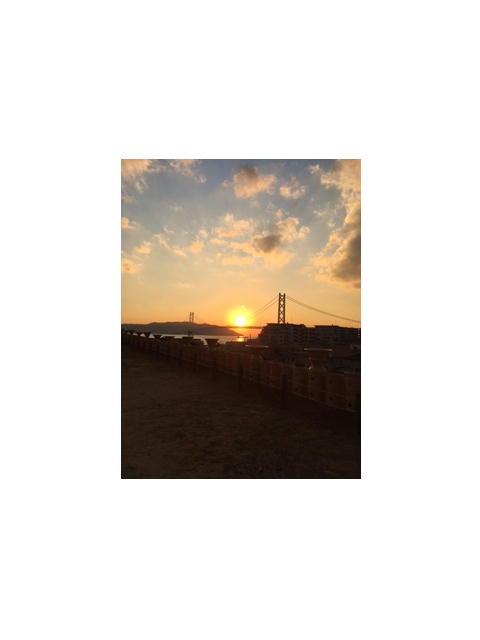 夕陽がきれいでした。_f0079749_16302529.jpg