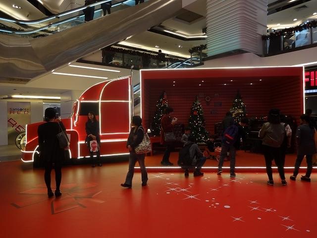 美麗華商場のクリスマスデコレーション _b0248150_03343614.jpg