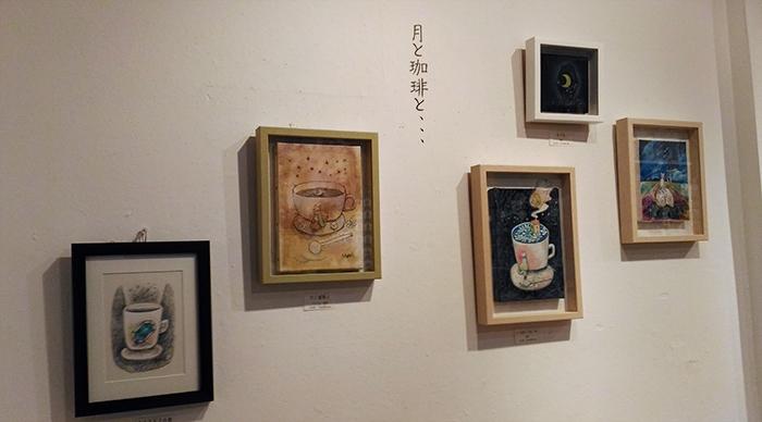 個展 月と珈琲と、、、 _f0023482_849814.jpg