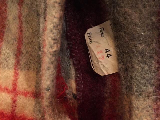 1月20日(水)大阪店ヴィンテージ入荷!#4 アメリカントラッド編!!Blanket JKT!!(大阪アメ村店)_c0078587_1352626.jpg