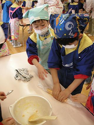 ☆野菜クッキー作りをしました☆_a0162903_1605793.jpg