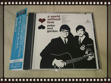 PETER AND GORDON / A WORLD WITHOUT LOVE_b0042308_14442193.jpg