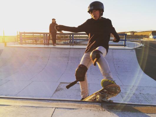 光太朗&陽太のスケートボード始め‼️_d0106911_18150823.jpg