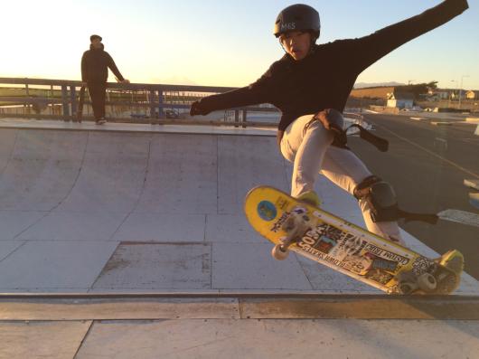 光太朗&陽太のスケートボード始め‼️_d0106911_18150961.jpg