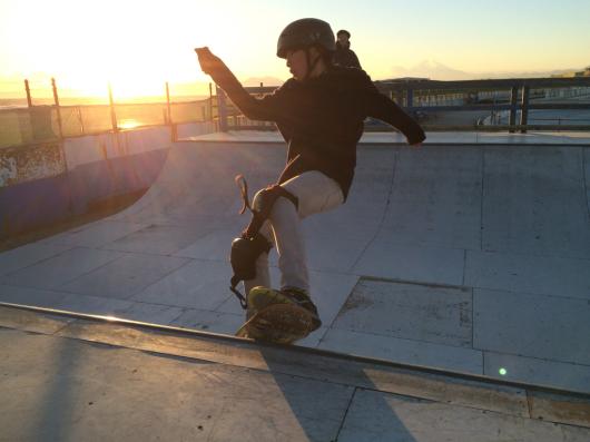 光太朗&陽太のスケートボード始め‼️_d0106911_18151032.jpg