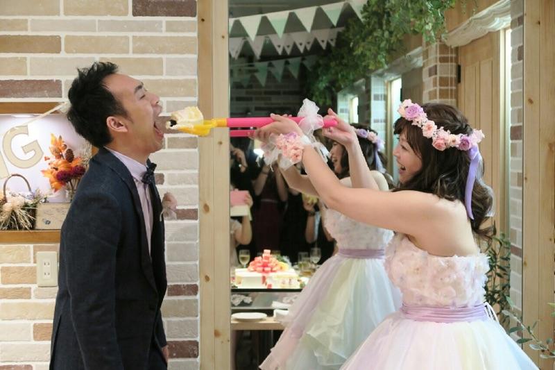 新郎新婦様からのメール 結婚式で手作りの花かんむり&ご両親へ贈る花 サンタキアラ教会の花嫁様_a0042928_1812076.jpg