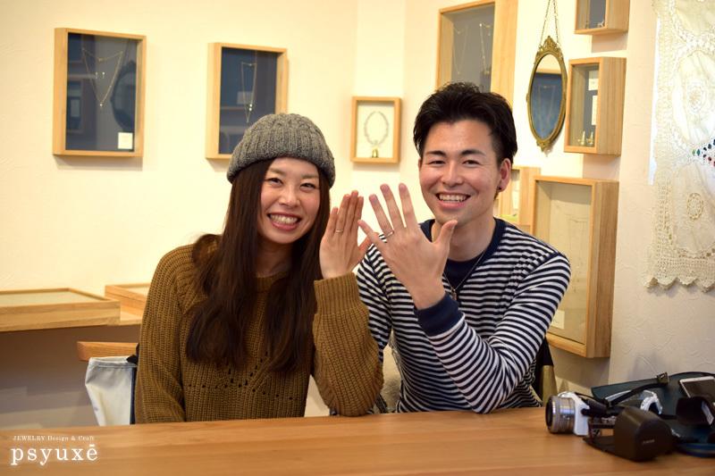 Marriage Ring 静岡県 M 様_e0131432_10490729.jpg
