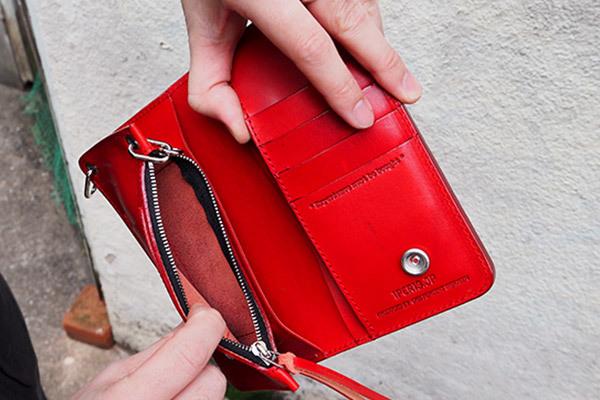 1%13様のご好意により財布の予約を1月25日まで延長してもらいました。_e0325662_17082972.jpg