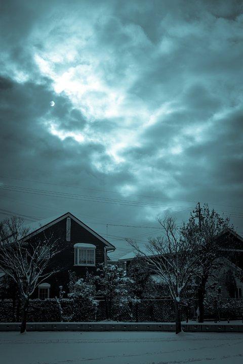 暖冬の雪景色_d0353489_22171953.jpg