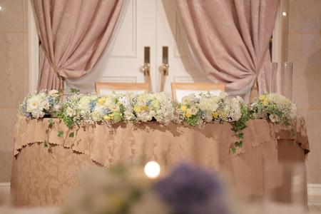 夏の装花 恵比寿イーストギャラリー様の結婚式へ ブーケのカスミソウをおそろいで_a0042928_1529379.jpg