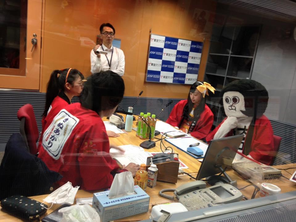 オカザえもんと岸田メル with ベリーボタン_d0166534_15491448.jpg