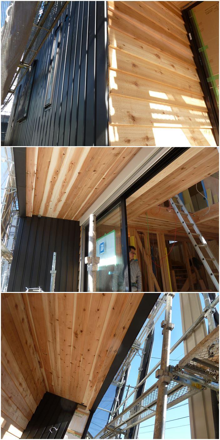 横浜市青葉区の家☆外壁は「木」と「ガルバ」_c0152341_1271972.jpg