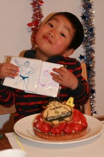 息子の4歳の誕生日_e0045565_1132748.jpg