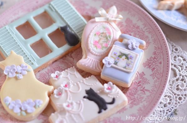 猫アイシングクッキー  Homemade Cat\'s Icyng Cookies_d0025294_19203033.jpg