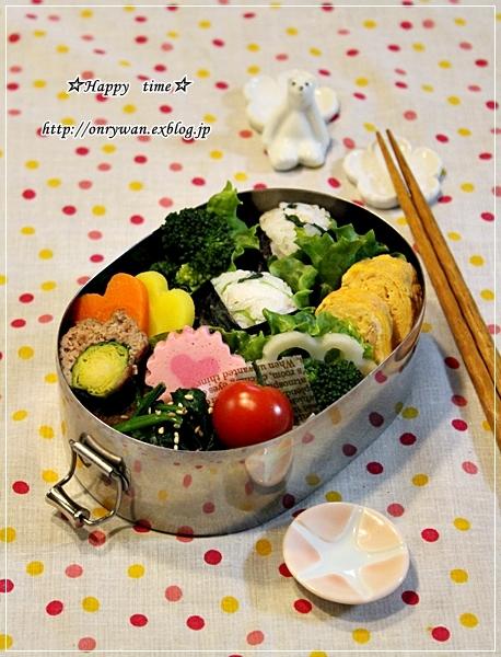 しらごまさんおむすび弁当とパイナップル日記①♪_f0348032_18084574.jpg