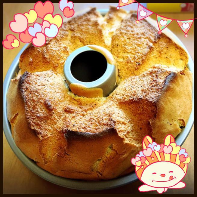 夢の紅茶のシフォンケーキ☆_f0183846_17431987.jpg