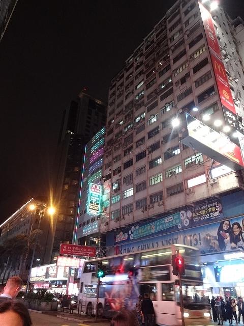 夜の彌敦道 _b0248150_19412294.jpg
