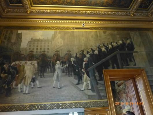 Hotel de Ville パリ市庁舎の見学_d0263859_17374122.jpg