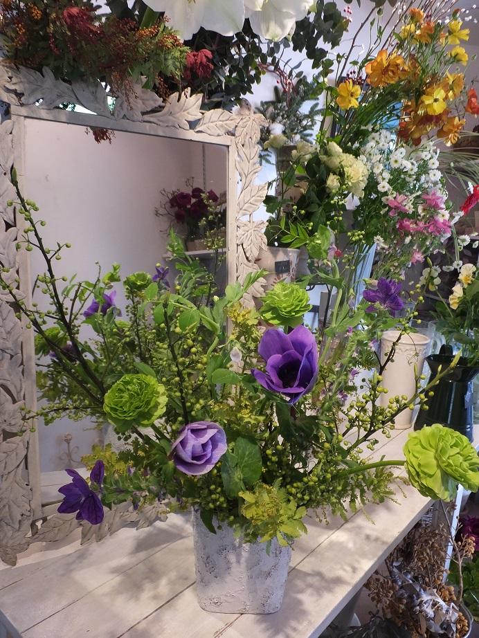 オークリーフ花の教室(石川さんの作品)_f0049672_17454953.jpg