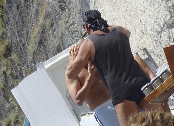 イスキア島2. 波と格闘しながら海中温泉にいざダイブ!!_f0205783_19362374.jpg