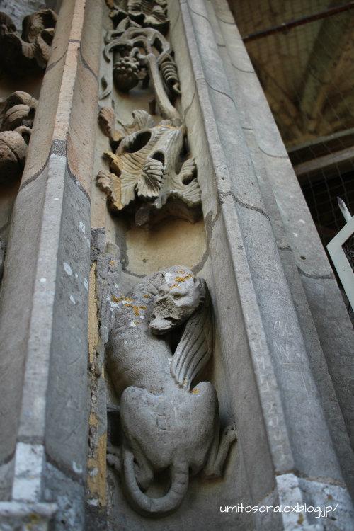シャルトル大聖堂から眺める @フランス_b0324291_09323351.jpg