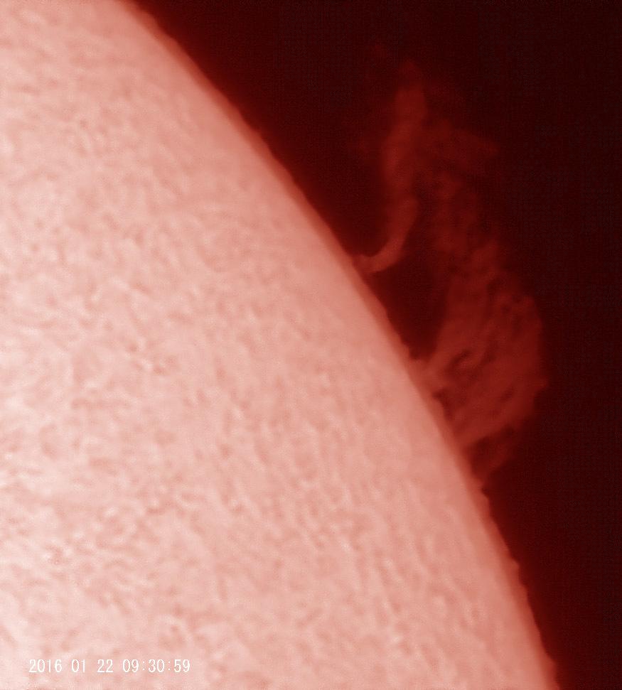 1月22日の太陽_e0174091_13574577.jpg