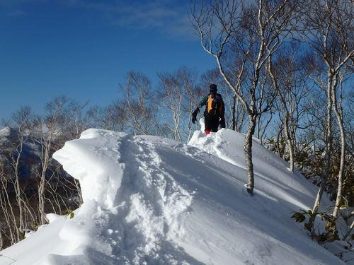 多峰古峰山、1月22日_f0138096_23414540.jpg