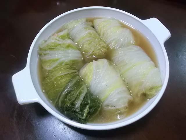 ロール白菜スープ煮_f0019498_853876.jpg