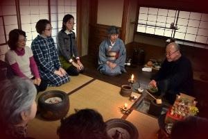3月3日(木・ひなまつり) 菜の花 高橋台一さんのホッとひといき抹茶のふるまい_c0110117_14533582.jpg