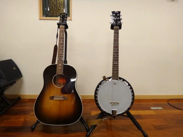 竜生牧師の新しい相棒!ギターバンジョー上々!_d0120628_4351563.jpg