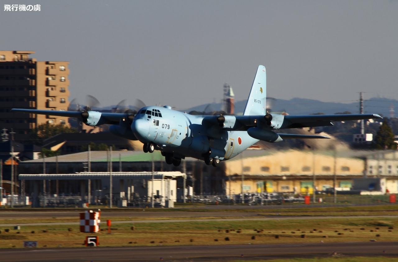 いつかの名古屋飛行場 水色C-130Hの離陸  航空自衛隊_b0313338_15581863.jpg