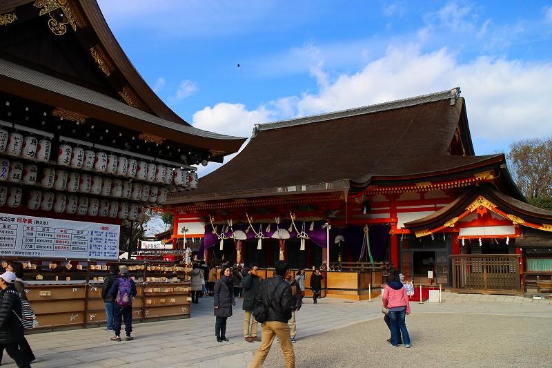 八坂神社にて新年の「御祈祷」を受ける20160111_e0237645_23335746.jpg